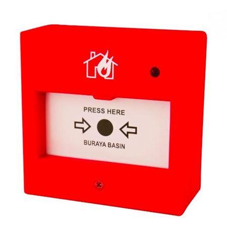 Adreslenebilir Yangın Alarm Manuel Çağrı Butonları kategorisi için resim